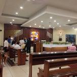 Photo taken at Iglesia La Resurrección by Elmer T. on 10/5/2013