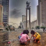 Photo taken at MH. Thamrin - Sudirman Street by Hafeez A. on 12/15/2013