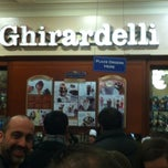 Photo taken at Ghirardelli Ice Cream & Chocolate Shop by Paige S. on 4/13/2013