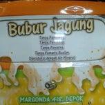 Photo taken at BUBUR JAGUNG Aceh jezz bubur by Fathoni F. on 5/17/2013