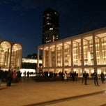 Photo taken at Avery Fisher Hall at Lincoln Center by Juan Guillermo G. on 10/10/2012