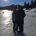 Photo taken at Caples Lake by Marian E. on 1/25/2015
