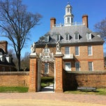 Photo taken at Colonial Williamsburg Regional Visitor Center by Jerome N. on 4/3/2013