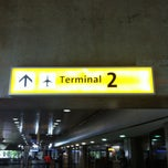 Photo taken at Terminal 2 (TPS2) by Max S. on 3/17/2013