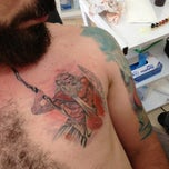 Photo taken at Mystery Tattoo Ali Ersarı by Bahar on 7/30/2013