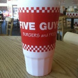 Photo taken at Five Guys by Dan H. on 3/19/2013