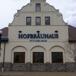 Photo taken at Hofbräuhaus Pittsburgh by Kin L. on 4/8/2013