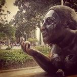 Photo taken at Plaza Botero by Felipe T. on 12/3/2012