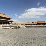 Photo taken at 乾清宫 Palace of Heavenly Purity by Joe K. on 5/19/2015