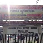 Photo taken at Polda Riau by Sanny H. on 4/9/2014