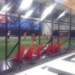 Photo taken at Futbox Futsal Center by Jay on 7/16/2013