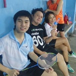 Photo taken at CC Badminton Court by lim s. on 12/30/2014