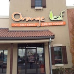 Photo taken at Orange Leaf by Kelli G. on 11/15/2012