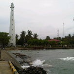 Photo taken at Mercusuar Anyer by Mochi I Oki Kharisma N. on 4/7/2013