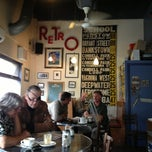 Photo taken at Retro Cafe by Natasha J. on 2/4/2013