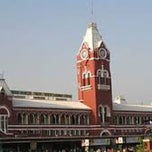 Photo taken at Chennai Central by Shiva S. on 3/6/2013