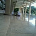 Photo taken at Masjid ITS by Mar'atul A. on 4/12/2014