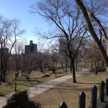 Photo taken at St. Nicholas Park by Oksana on 3/24/2013