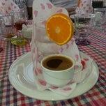 Photo taken at Balkaymak Kahvaltı Salonu by Ebru B. on 6/13/2013