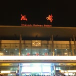 Photo taken at 成都站 Chengdu Railway Station by ci c. on 3/30/2013
