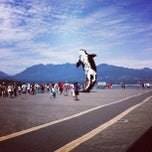 Photo taken at Jack Poole Plaza by Chels A. on 7/1/2013