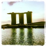 Photo taken at Marina Bay Sands Casino by Justin C. on 2/27/2013