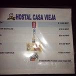 Photo taken at Hostal Casa Vieja by Kim B. on 10/29/2014