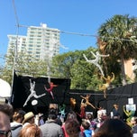 Photo taken at Coconut Grove Arts Festival by Leena T. on 2/17/2013