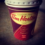 Photo taken at Tim Hortons by Hany M. D. I. on 10/20/2012
