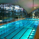 Photo taken at Olympia-Schwimmhalle by Petra *. on 12/25/2012