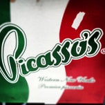Photo taken at Picasso's Pizza by Jon R. on 10/21/2012