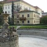 Photo taken at Andělská fontána by Radomír G. on 4/16/2015