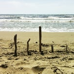 Photo taken at Spiaggia Libera by Martina on 5/4/2013