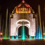 Photo taken at Monumento a la Revolución Mexicana by Daniel  G. on 11/21/2013