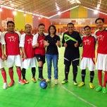Photo taken at Vidi Arena Futsal by Retno Setyo Utami- I. on 3/8/2015