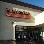 Photo taken at Fab Hot Dogs by Stephen W. on 12/15/2012