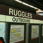 Photo taken at MBTA Ruggles Station by David P. on 4/26/2011