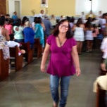 Photo taken at Igreja Católica Matriz São Miguel Arcanjo by Jaime L. on 6/3/2012