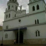 Photo taken at Iglesia san juan nepomuseno by DAVID M. on 4/4/2012