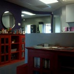 Photo taken at Salon b by Irene V. on 7/24/2012