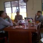 Photo taken at Kantin Sat Lantas by Rolla R. on 12/12/2011