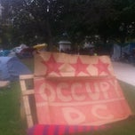 Photo taken at Occupy K St. by Fred S. on 10/28/2011