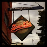 Photo taken at Sandlot Brewery @ Coors Field by Mireya P. on 9/1/2012