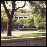 Photo taken at Hornbake Plaza by Jessica M. on 5/3/2012