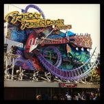 Photo taken at Rock'n' Roller Coaster With Aerosmith by Thierry V. on 5/28/2012
