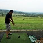 Photo taken at Sentul Highlands Golf Club by Novan H. on 4/18/2015