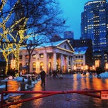 Photo taken at Quincy Market by Steve C. on 3/21/2013