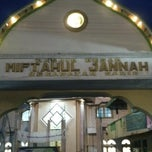 Photo taken at Masjid Miftahul Jannah by 'THAZYA' Anastasia Rizki on 7/19/2013