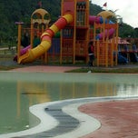 Photo taken at D'Cove Pasir Panjang Family Park by Sue S. on 5/25/2013