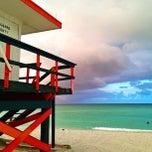 Photo taken at South Beach by Irina E. on 6/15/2013